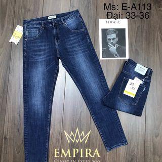 Quần Jean Nam dài đại cao cấp Empira E-A113 giá sỉ
