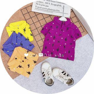 Quần áo trẻ em - áo cổ sơ mi giá sỉ