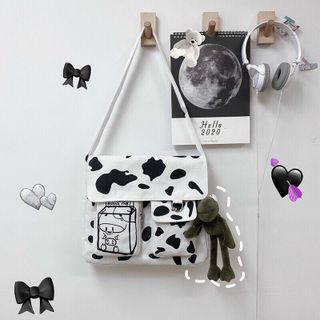 Túi đeo bò sữa chất canvas đẹp giá sỉ