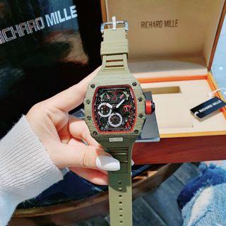 Đồng hồ nam điện tử cao su Ri,chảd giá sỉ