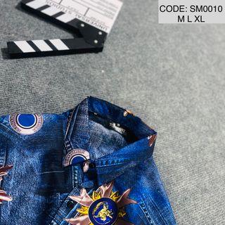 Áo Sơ Mi In 3D Cao Cấp - SM0010 giá sỉ