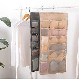 Túi Vải Treo Tủ Đựng Đồ Lót Vớ Cà Vạt (chiếc) giá sỉ