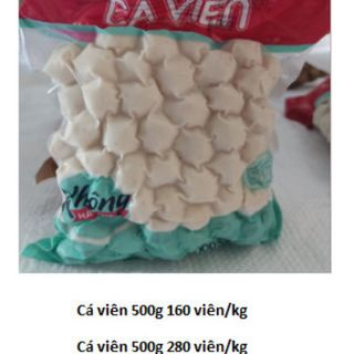 CÁ VIÊN GÓI 500g- hàng phổ thông -CVPT #cavien #cá viên giá sỉ