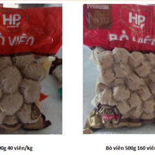 BÒ VIÊN- GÓI 500g- - BVCC #bovien #bò viên giá sỉ
