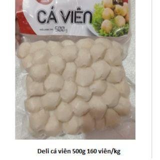 CÁ VIÊN- GÓI 500g -160 viên/kg- - CVCC #cavien #cá viên giá sỉ