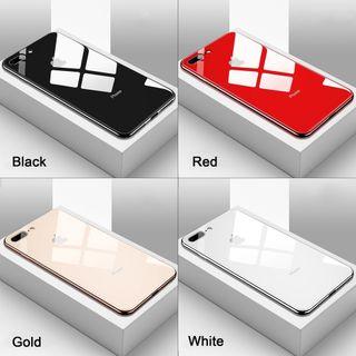 Ốp kính viền dẻo cùng màu với lưng máy IPhone giá sỉ