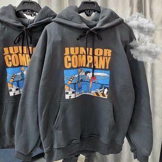 Áo hoodie in COMPANY nỉ ngoại mềm mịn nón 2 lớp trẻ trung, năng động giá sỉ