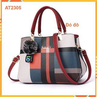 Túi xách nữ AT2305 cao cấp -hàng Quảng Châu - phong cách trẻ trung, năng động giá sỉ