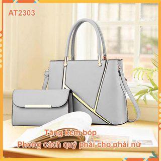 Túi xách nữ AT2303 cao cấp, , giá rẻ - tặng kèm bóp nhỏ giá sỉ