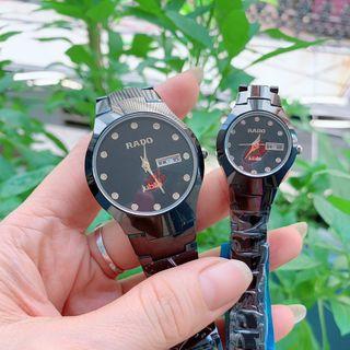 Đồng hồ nam dây cặp đôi R,a,do giá sỉ