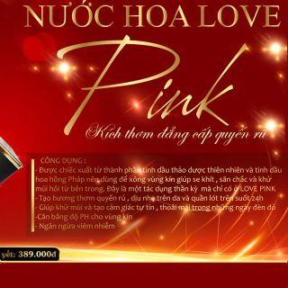 nước hoa vùng kính love pink giá sỉ