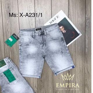 QUẦN SHORT JEAN NAM CAO CẤP EMPIRA X-A231/1 giá sỉ