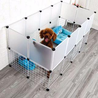Tấm nhựa lắp ghép quây chuồng chó, mèo ( tặng kèm chốt) giá sỉ