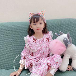 Bộ quần áo trẻ em - bộ pijama bé gái sz đại giá sỉ