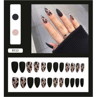 Bộ 24 móng tay giả-R153 giá sỉ