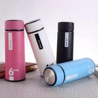 Bình chai 6OUP - Chai thủy tinh vỏ nhựa 400ml giá sỉ