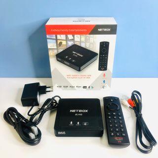 Android TV Box NETBOX B68 Có Điều khiển giọng nói Ram 4G/ Rom 32G giá sỉ