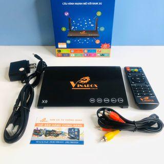 Android TV Box Vinabox X9 giá sỉ