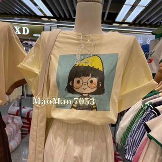 Áo thun phông quảng châu dáng rộng thụng giá sỉ