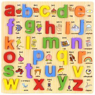 Bảng chữ cái song ngữ chữ thường giá sỉ