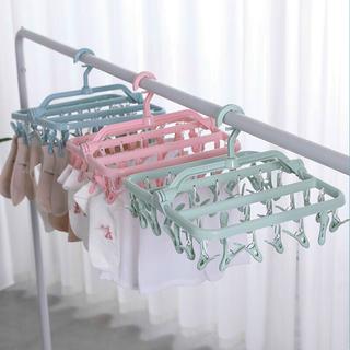 Giá móc treo quần áo cho bé 32 móc giá sỉ