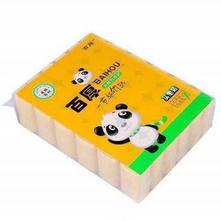 Giấy vệ sinh gấu trúc Sipao túi 36 cuộn giá sỉ