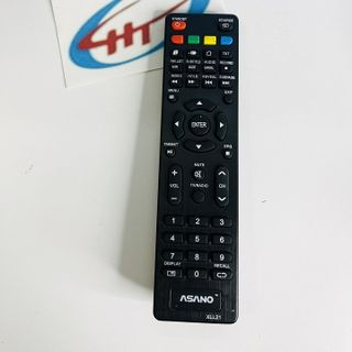 Remote Tivi Asanzo (4 nút màu trên ) giá sỉ