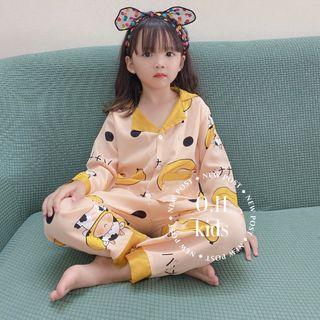 Bộ đồ trẻ em - bộ pijama lụa đại giá sỉ