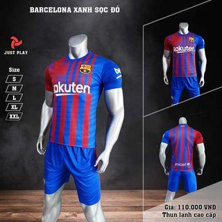 Quần áo bóng đá Justplay Barcelona giá sỉ