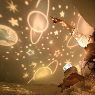 Đèn ngủ chiếu sao trời, đại dương, vũ trụ ngân hà tự động xoay cao cấp. giá sỉ