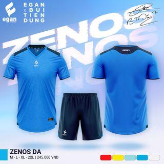 Quần áo bóng đá Egan Zenos (5 màu) giá sỉ