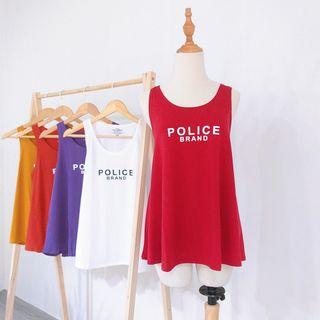 Áo ba lỗ nữ thun cotton in chữ đơn giản siêu hot mặc mát giá sỉ
