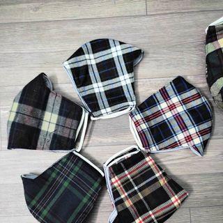 Khẩu trang vải cotton cao cấp 2 lớp kháng bụi, chống nắng tốt giá sỉ