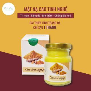 CAO TINH NGHỆ handmade [100% thiên nhiên] Mặt nạ sáng da, mờ thâm, giảm mụn 5.0 giá sỉ