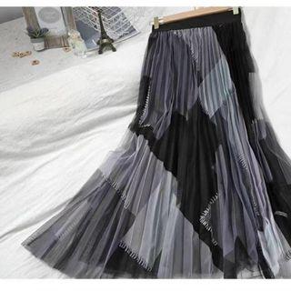 chân váy voan dài giá sỉ
