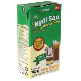 Sữa đặc Ngôi sao Phương nam xanh lá Vinamilk  hộp giấy 380g ( 1 Thùng / 24 hộp ) giá sỉ
