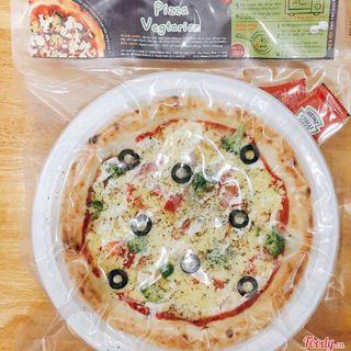 Pizza vegtarian - Pizza đông lạnh tphcm vị chay giá sỉ