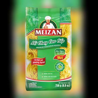 Mì chay cao cấp Meizan gói 200g (thùng 12 gói) giá sỉ