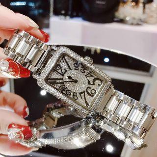 Đồng hồ nữ Guou 8201 kim loại giá sỉ