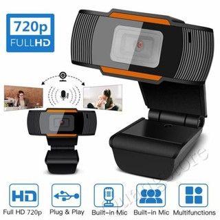 Webcam USB 480P/720P 12.0MP Độ Nét Cao Camera Web 360 Độ Kẹp Xoay-On Webcam Có Micrô Cho Máy Tính Để Bàn giá sỉ