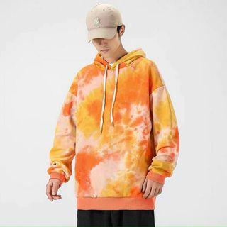 Áo hoodie loang màu thun nỉ ngoại siêu ngầu giá sỉ