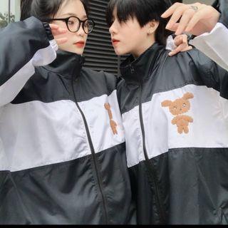 Áo khoác dù kiểu bomber logo in LASTIC độc lạ, trẻ trung giá sỉ
