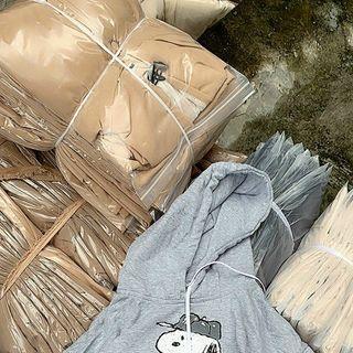 Áo hoodie chống nắng tránh mưa chất thun nỉ ngoại hình logo in hoạt hình cún form dưới 70kg tay phồng cánh dơi giá sỉ