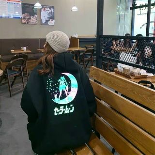 Áo hoodie in phản quang 7 màu thun nỉ ngoại decal in xịn form dưới 70kg giá sỉ