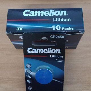 Pin cúc áo Camelion Lithium CR2450 3V 5029LC (Hộp 10 viên) giá sỉ