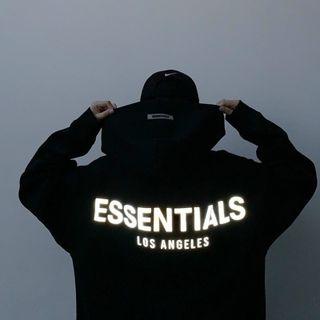 Áo hoodie thun nỉ ngoại logo in phản quang decal in xịn form dưới 70kg giá sỉ