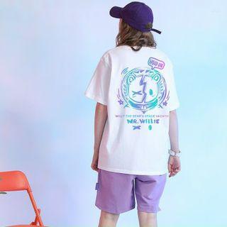 Áo thun phản quang 7 màu HOID ON form dưới 75kg giá sỉ