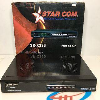 Đầu thu test sóng vệ tinh DVB-S1 STAR COM SR-X333 giá sỉ