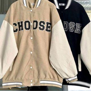 Áo khoác nhung 2 lớp dày đẹp, logo thêu CHO DSE trẻ trung, năng động giá sỉ
