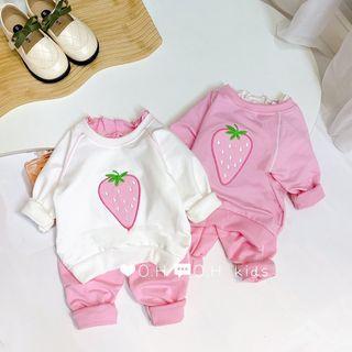 Đồ bộ trẻ em - Quần áo trẻ em - bộ đại các dâu tây giá sỉ